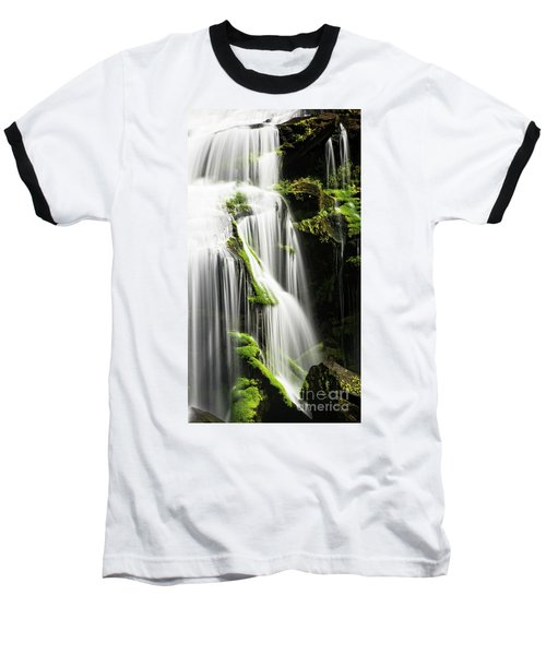 Bald River Falls Baseball T-Shirt