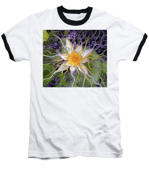 Bali Dream Flower Baseball T-Shirt
