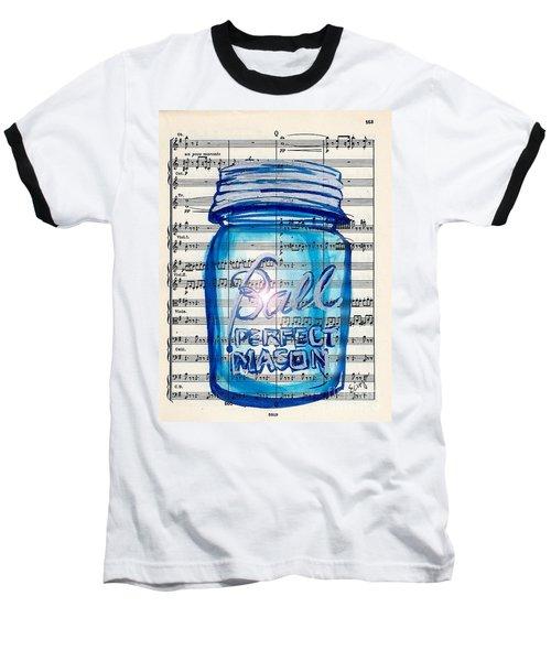 Ball Mason Jar Classical #168 Baseball T-Shirt
