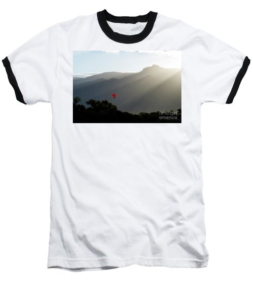 Balloon At Sunrise Baseball T-Shirt