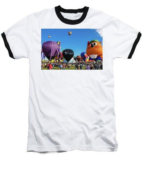 Balloon Fiesta Albuquerque I Baseball T-Shirt