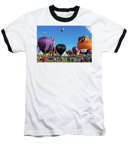 Balloon Fiesta Albuquerque I Baseball T-Shirt