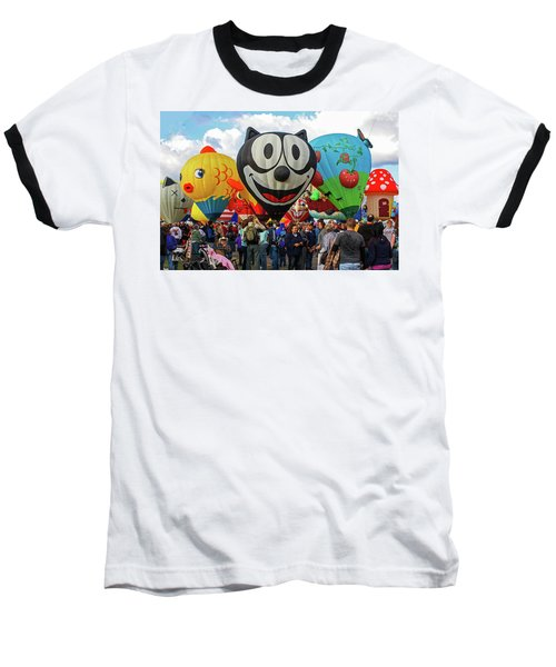 Balloon Fiesta Albuquerque II Baseball T-Shirt