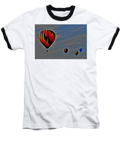 Balloons In The Sky Baseball T-Shirt