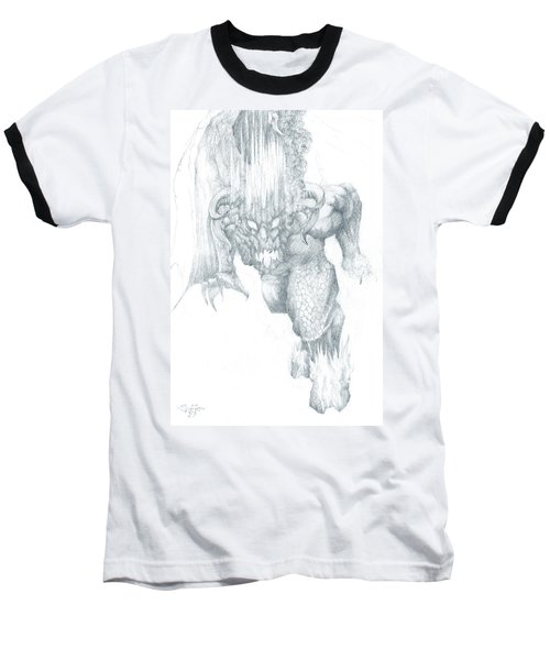 Balrog Sketch Baseball T-Shirt