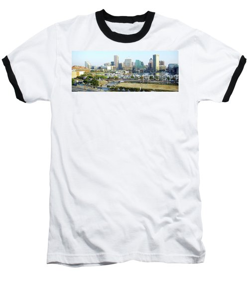 Baseball T-Shirt featuring the photograph Baltimore's Inner Harbor by Brian Wallace