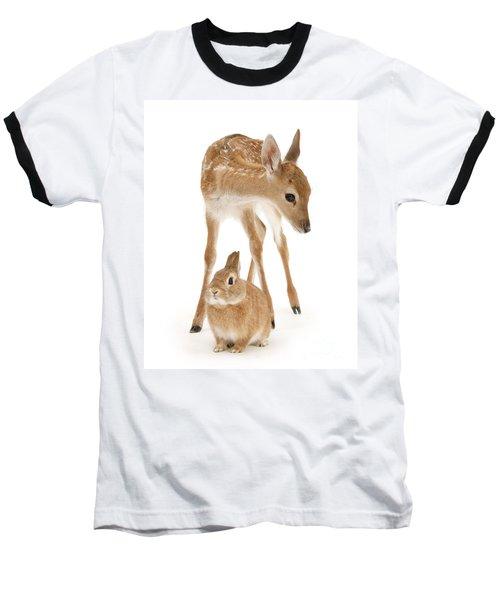 Bambi And Thumper Baseball T-Shirt