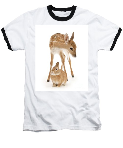 Bambi And Thumper Baseball T-Shirt