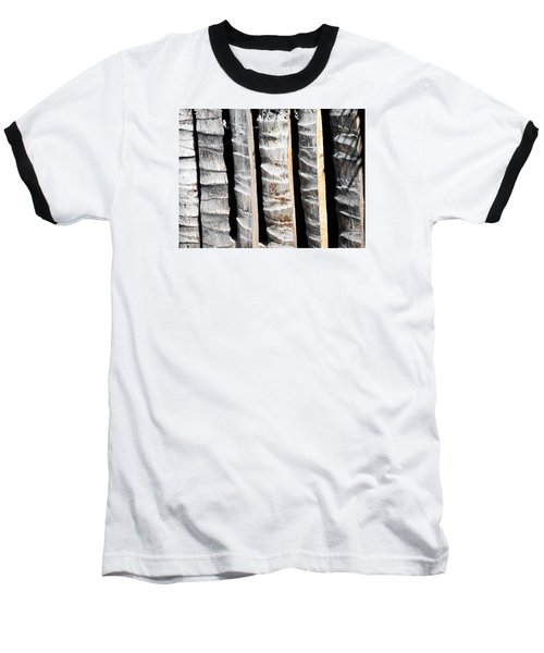 Bamboo Fence Baseball T-Shirt