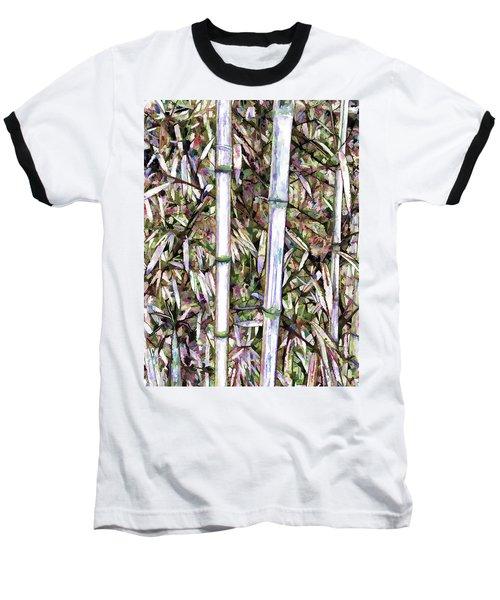 Bamboo Stalks Baseball T-Shirt by Lanjee Chee