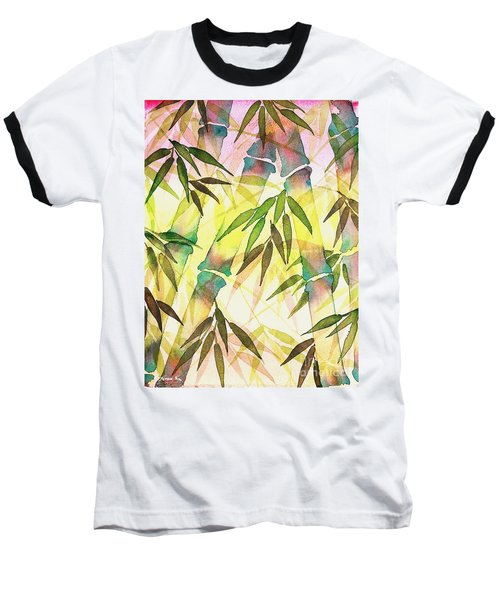 Bamboo Sunrise Baseball T-Shirt