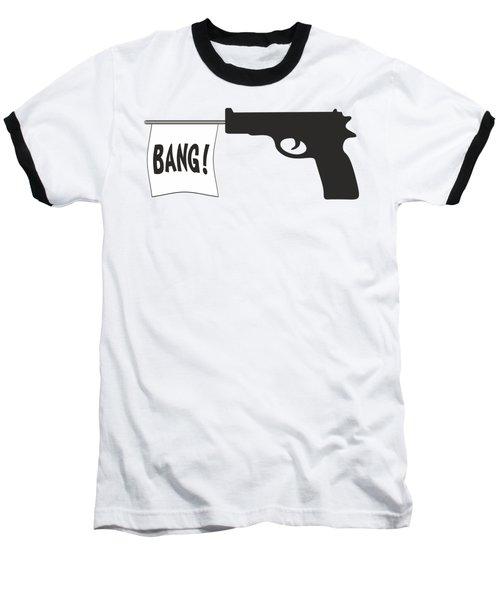 Bang Baseball T-Shirt by Ericamaxine Price