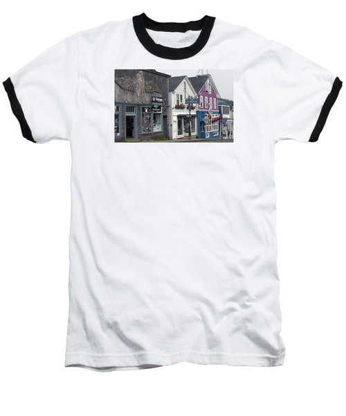 Baseball T-Shirt featuring the photograph Bar Harbor by Helen Haw