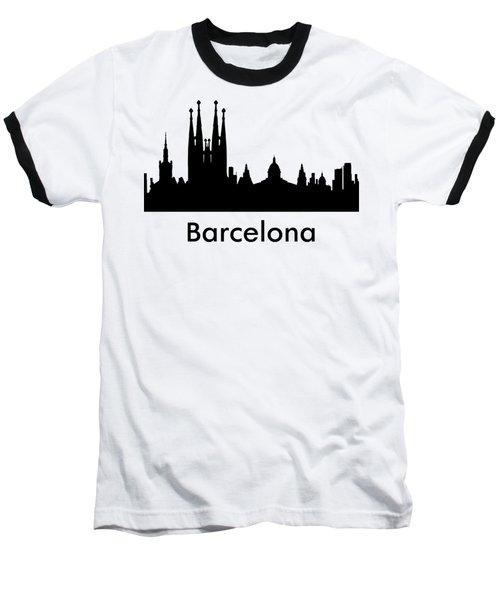 Barcelona Baseball T-Shirt