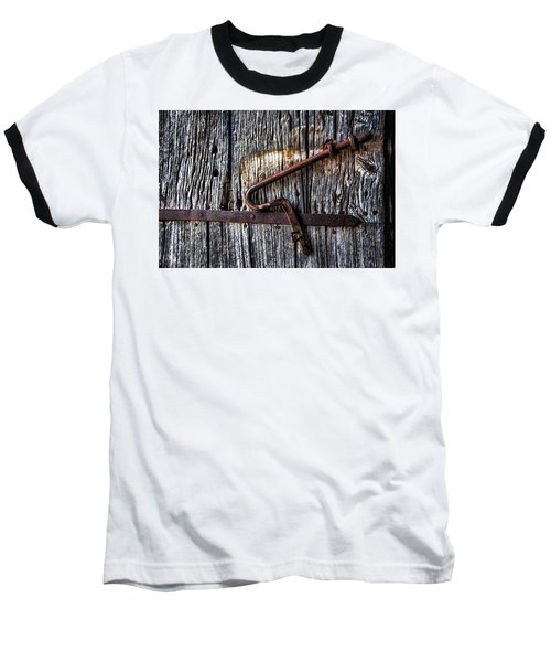 Barn Lock Baseball T-Shirt