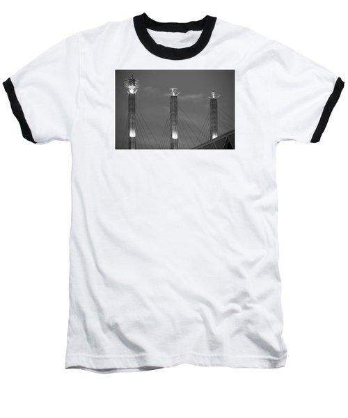 Bartle Hall Pylons Art Baseball T-Shirt
