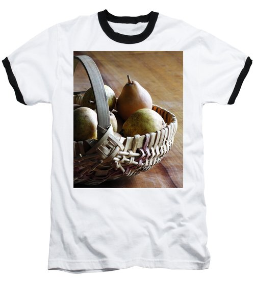 Basket And Pears Baseball T-Shirt