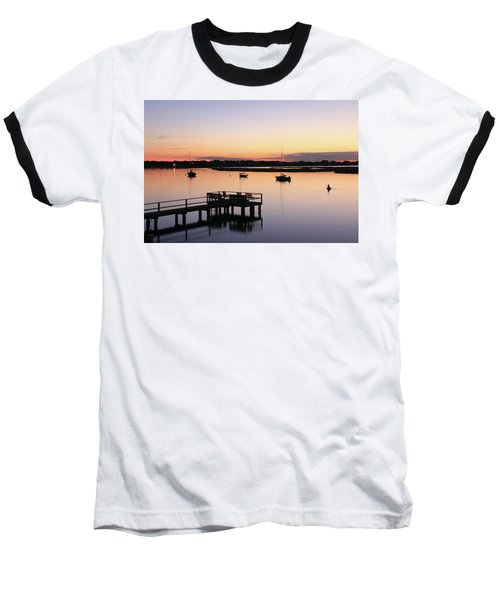 Bass River Before Sunrise Baseball T-Shirt