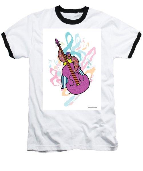 Bass Baseball T-Shirt by Steve Ellis