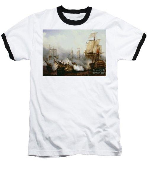 Battle Of Trafalgar Baseball T-Shirt