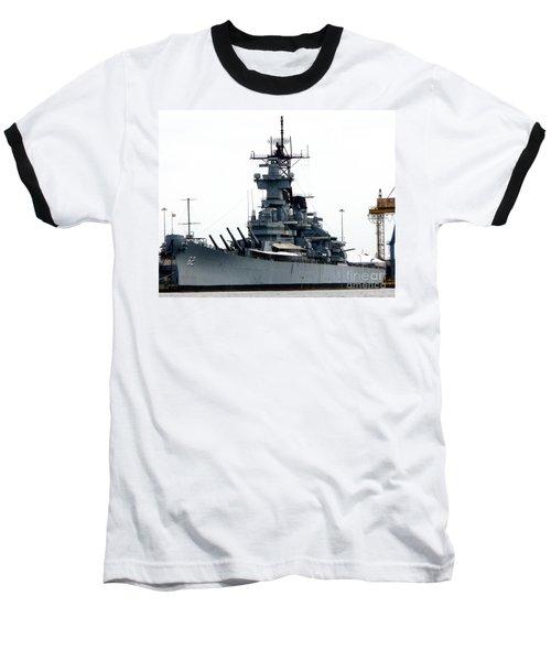 Battleship New Jersey Baseball T-Shirt