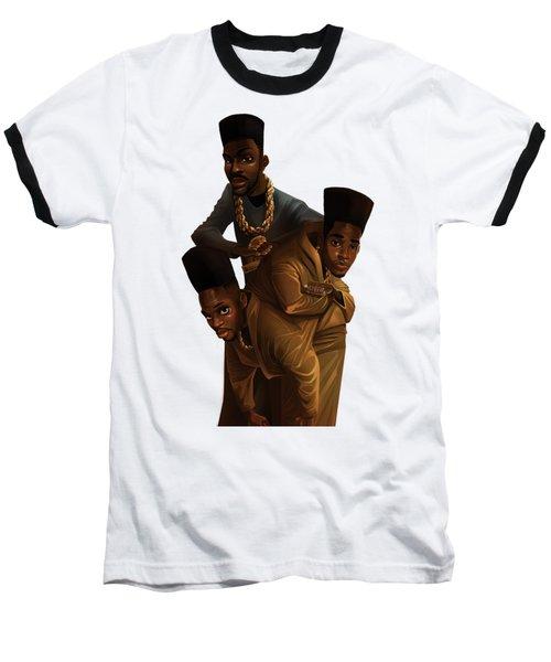 Bdk White Bg Baseball T-Shirt
