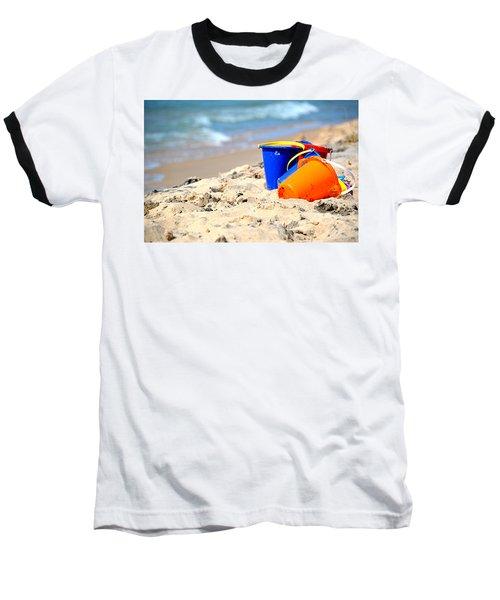 Beach Buckets Baseball T-Shirt