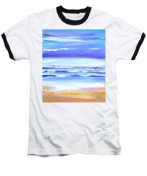 Beach Dawn Baseball T-Shirt by Winsome Gunning