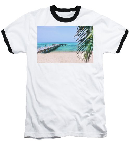 Beach Dreams Baseball T-Shirt by Iryna Goodall
