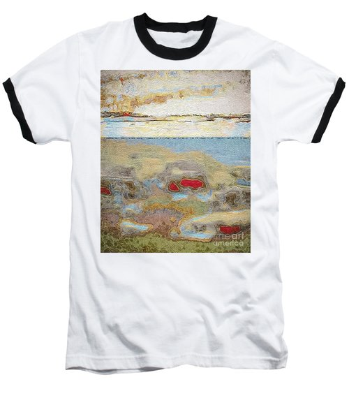 Beach Dunes Baseball T-Shirt by William Wyckoff