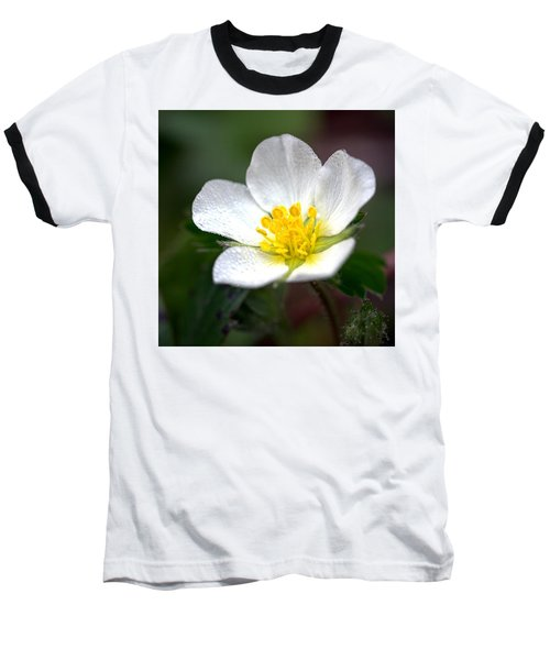 Beach Flower Baseball T-Shirt