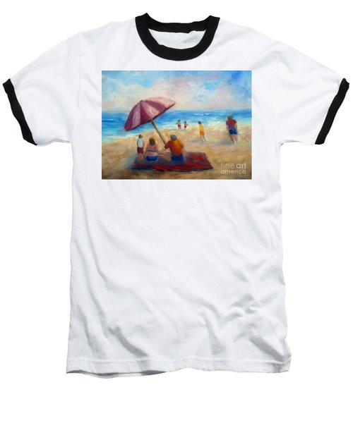 Beach Fun Baseball T-Shirt