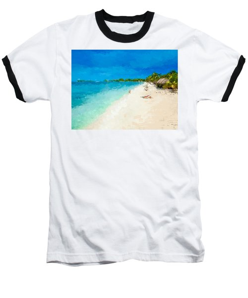 Beach Holiday  Baseball T-Shirt