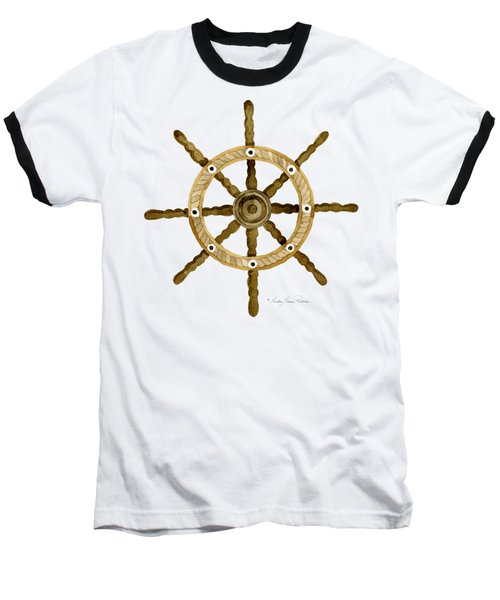 Beach House Nautical Boat Ship Anchor Vintage Baseball T-Shirt