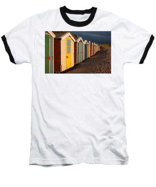 Beach Huts II Baseball T-Shirt