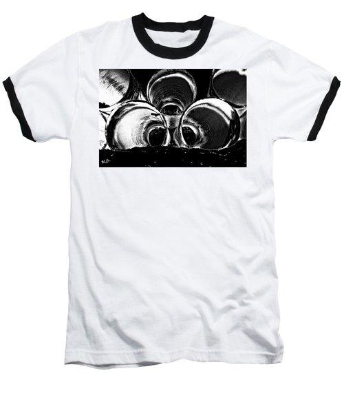Beach Pipes Baseball T-Shirt