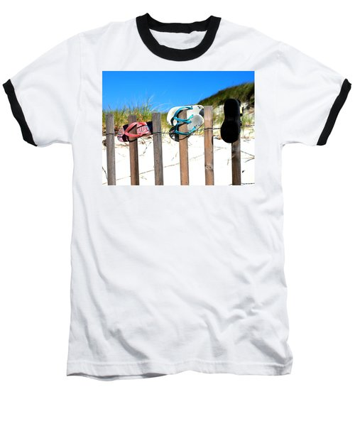 Beach Sandels  Baseball T-Shirt