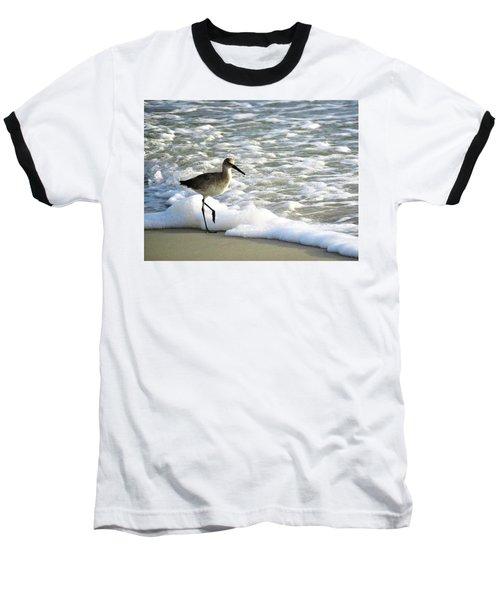Beach Sandpiper Baseball T-Shirt