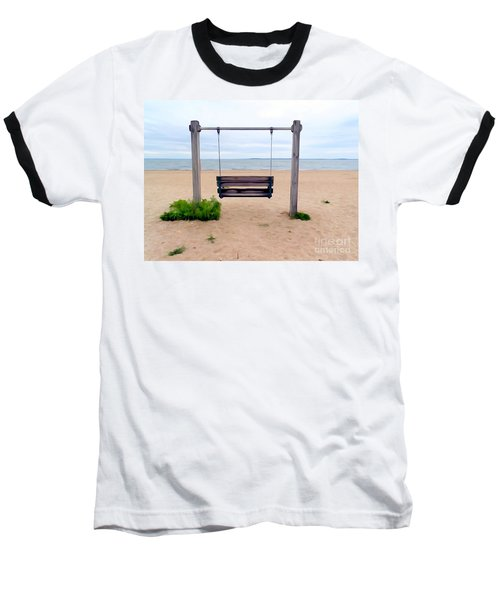 Beach Swing Baseball T-Shirt