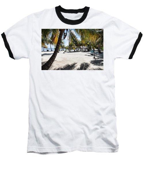 Beach Volleyball Court Baseball T-Shirt