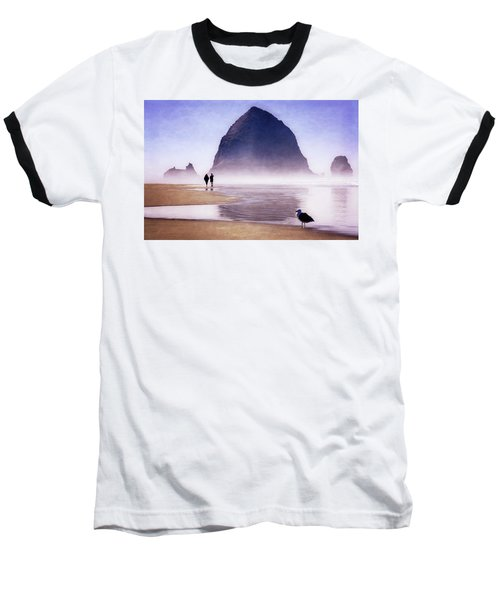 Beach Walk Baseball T-Shirt