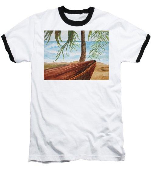 Beached Boat Baseball T-Shirt
