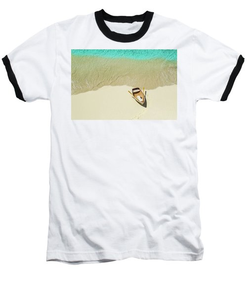 Beached Baseball T-Shirt