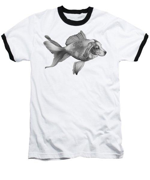Beaglefish Baseball T-Shirt