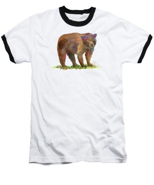 Bear In Mind Baseball T-Shirt