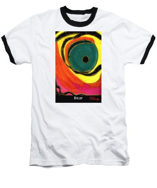 Baseball T-Shirt featuring the painting Bear by Clarity Artists