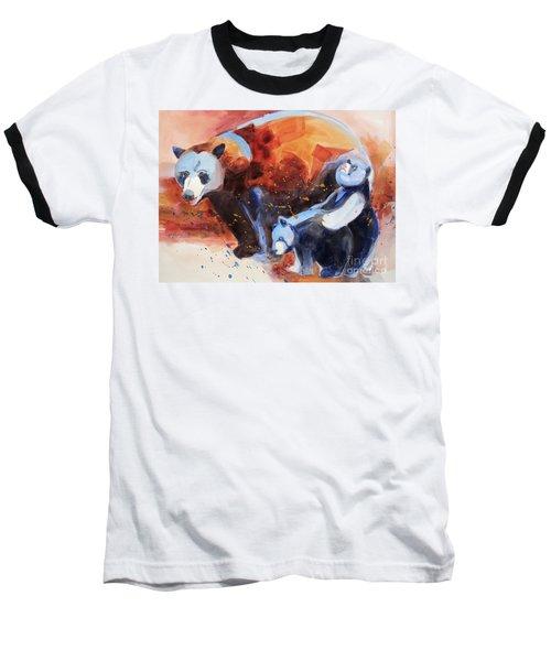 Bear Family Outing Baseball T-Shirt