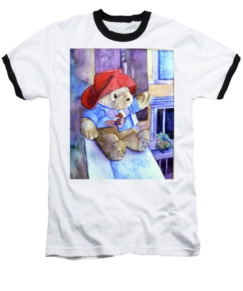 Bear In Venice Baseball T-Shirt