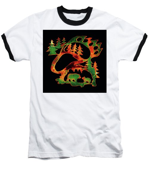 Baseball T-Shirt featuring the photograph Emerald Bear Paw  by Larry Campbell