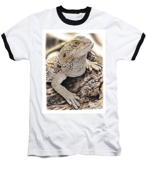 Bearded Dragon Baseball T-Shirt